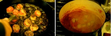 Meatballs cooked Godfather- and Goodfellas-style
